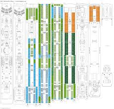 msc sinfonia deck plans diagrams pictures video