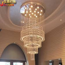Chandelier Creative Discount Villa Duplex Staircase Hall Crystal Chandelier Creative