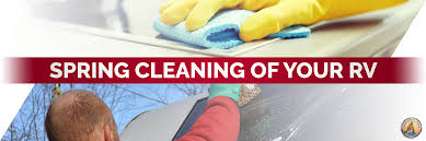 springcleaning spring cleaning of your rv lakeshore rv