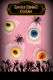cookie recipes halloween eyeball cookie recipe