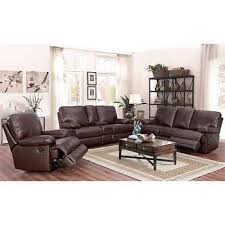 Brown Leather Recliner Sofa Set Leather Recliners Costco
