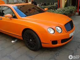 orange bentley bentley continental flying spur speed 1 august 2013 autogespot