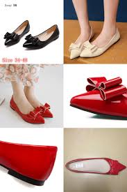Comfortable Heels For Plus Size Visit To Buy Shoes Woman Slip On Shoes Loafers Ballet Flats