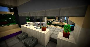 Minecraft Furniture Kitchen Modern Greyscale Minecraft Project
