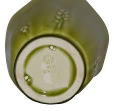 Deco Vase Rookwood Pottery 1945 High Glaze Art Deco Vase 6412 Just Art