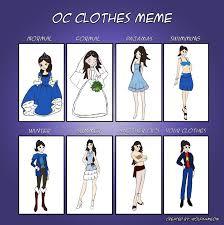 Clothes Meme - oc clothes meme saphir by impact358 on deviantart