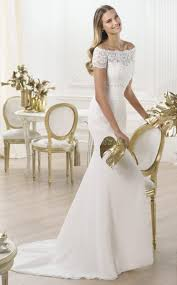 wedding dresses the shoulder sleeves chic photos of mermaid wedding dresses with the shoulder