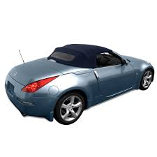 Nissan 350z Blue - amazon com nissan 350z convertible top made from haartz stayfast
