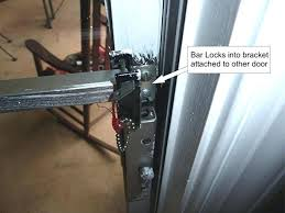 Security Bars For Patio Doors Sliding Glass Door Security Bar Lowes Sliding Door Sliding Door