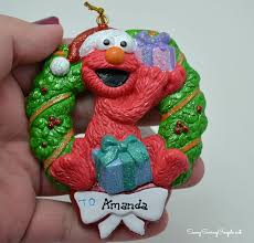 santa claus store elmo personalized ornament review