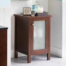 Bathroom Vanity With Side Cabinet Shop Bathroom Vanity Side Cabinets Ronbow