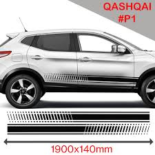 nissan qashqai malaysia price nissan qashqai racing side stripes stickers decal tuning car