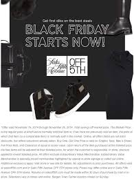 saks fifth avenue 5th black friday 2018 sale blacker friday
