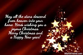 merry christmas from heaven may all the descend from christmas saying