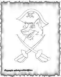 Coloriage educatif  Coloriages pirates parchemin