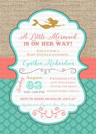 the sea baby shower invitations the sea girl baby shower choice image baby shower ideas