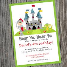knight party birthday invitation printable knight theme