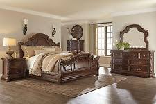 king rubberwood bedroom furniture sets with 4 pieces ebay