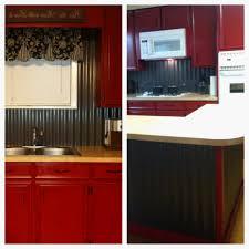 metal kitchen backsplash modern ideas corrugated tin backsplash stunning design kitchen
