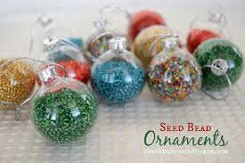 seed bead ornaments adventures of a diy mom