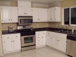 unique kitchen paint colors with white cabinets taste