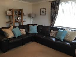 Leather Corner Sofa For Sale by Dfs Linea Range Corner Sofa 6 Seater Chocolate Brown Leather