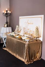 kara u0027s party ideas elegant gold white baptism party via kara u0027s