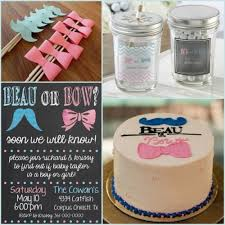 baby shower gender reveal beau or bow gender reveal baby shower ideas hotref party gifts