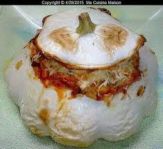 cuisiner le patisson blanc marmiton pâtisson farci vegetarien recette maison de ma cuisine maison