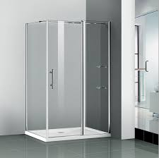 1200x700mm walk in shower enclosure pivot door frameless glass