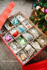 Christmas Ornament Storage Box Ideas by Ornament Storage Solution Ornament Storage Box Ornament Storage