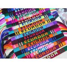friendship bracelet with name images Custom name friendship bracelet 1 dozen fbr14 ecuador craft jpg