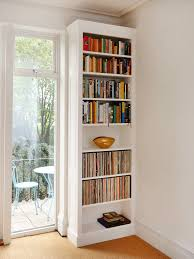 traditional fitted shaker bookshelves bespoke furniture fitted