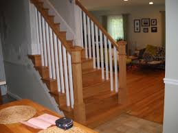 pics photos wood stair railings interior kris pictures painting