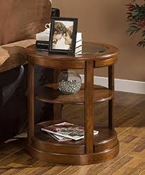 amazon com round end table with glass top these small modern