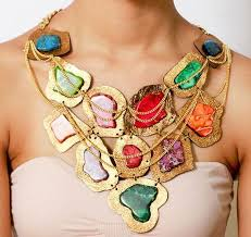 leather bib necklace images 57 best handmade statement necklaces images beaded jpg