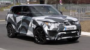 2015 range rover sport rs spied undergoing testing