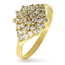 apart pierscionki pierścionek złoty apart próba 585 zaręczynowy cudo 7029905472