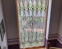 macrame door curtain macrame wall hanging room divider