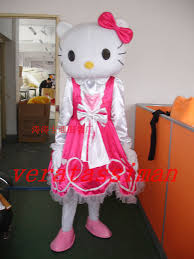 hello kitty mascot costume kt cat halloween costumes fancy dress