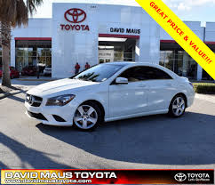 used mercedes cla used mercedes benz cla class for sale in deland fl edmunds