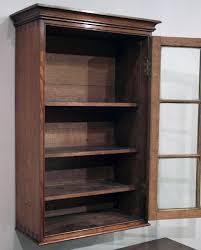 antique oak wall hanging cabinet antique wall cupboard uk