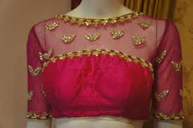 net blouse pattern 2015 amazing back neck net blouse designs for designer net sarees 2015