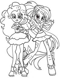 equestria girls coloring pages with regard to encourage to color