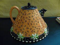 my most favorite engelbreit teapot tea time