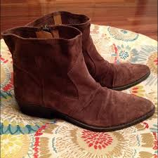 s boots nine nine nine suede vintage america ankle boots from