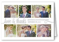 wedding thank you postcards wedding thank you cards wedding thank you notes shutterfly