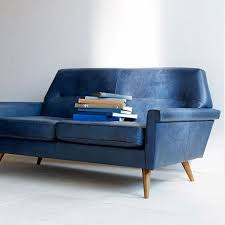 blue reclining sofa and loveseat denmark faceted loveseat leather french navy leather loveseat