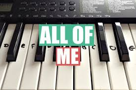 tutorial keyboard untuk pemula all of me john legend easy keyboard tutorial with notes right
