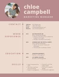 infographic resume templates rosewood modern infographic resume templates by canva